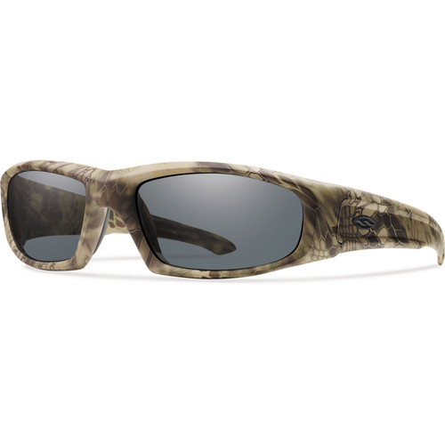 Smith Optics Hudson Elite Tactical Sunglasses (Kryptek Highlander - Gray Lens)