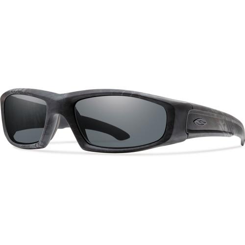 Smith Optics Hudson Elite Tactical Sunglasses (Kryptek Typhoon - Gray Lens)