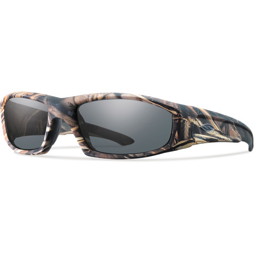 Smith Optics Hudson Elite Tactical Sunglasses (Realtree Max-4 - Gray Lens)