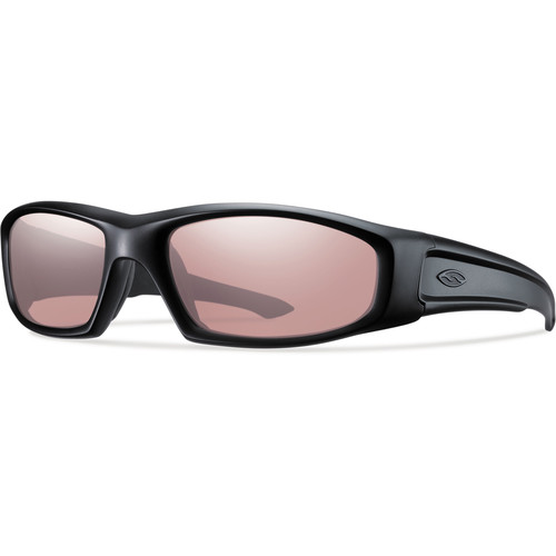 Smith Optics Hudson Elite Tactical Sunglasses (Black - Ignitor Mirror Lens)