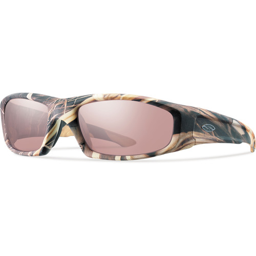 Smith Optics Hudson Elite Tactical Sunglasses (Realtree Max-4 - Ignitor Mirror Lens)