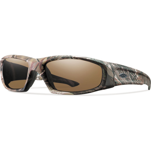 Smith Optics Hudson Elite Tactical Sunglasses (Realtree AP - Polarized Brown Lens)