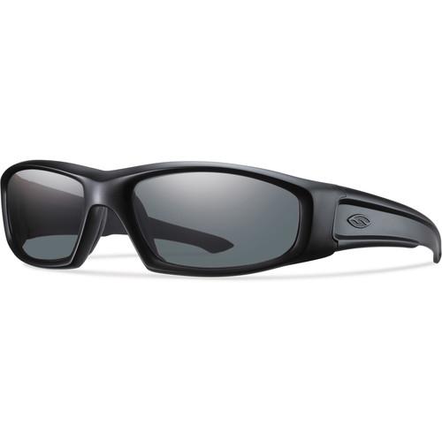 Smith Optics Hudson Elite Tactical Sunglasses (Black - Polarized Gray Lens)