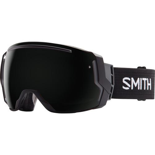 Smith Optics I/O 7 Snow Goggles (Black Frames, Blackout/Yellow Sensor Mirror Lenses)