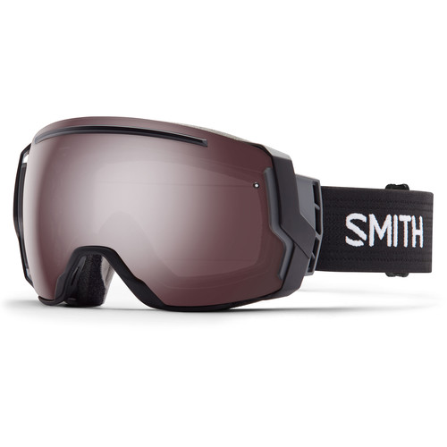 Smith Optics I/O 7 Snow Goggles (Black Frames, Ignitor Mirror/Red Sensor Mirror Lenses)
