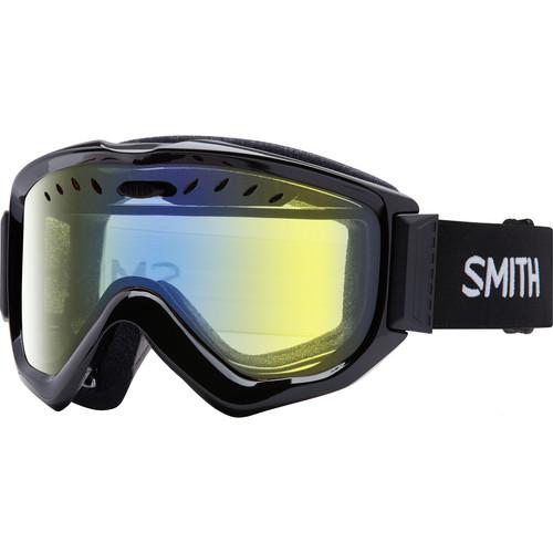 Smith Optics Knowledge OTG Snow Goggle (Black Frame, Yellow Sensor Mirror Lens)
