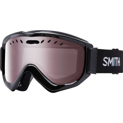 Smith Optics Knowledge OTG Snow Goggle (Black Frame, Ignitor Mirror Lens)