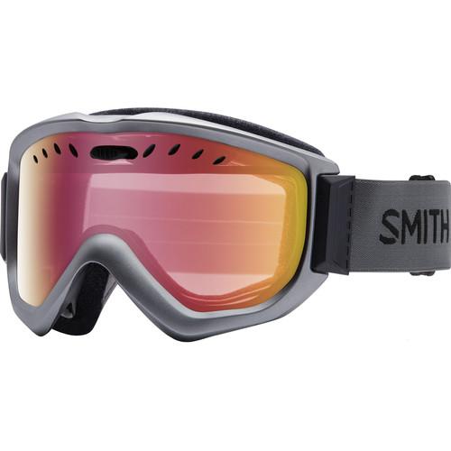 Smith Optics Knowledge OTG Snow Goggle (Graphite Frame, Red Sensor Mirror Lens)