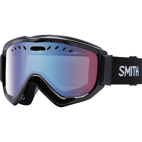 Smith Optics Knowledge OTG Snow Goggle (Black Frame, Blue Sensor Mirror Lens)