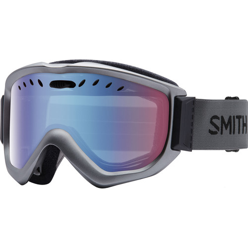 Smith Optics Knowledge OTG Snow Goggle (Graphite Frame, Blue Sensor Mirror Lens)