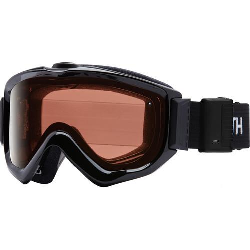 Smith Optics Knowledge Turbo Fan OTG Snow Goggles (Black Frame, RC36 Lens)