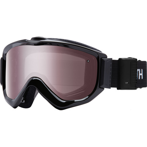 Smith Optics Knowledge Turbo Fan OTG Snow Goggles (Black Frame, Ignitor Mirror Lens)