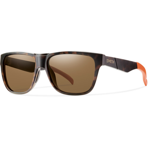 Smith Optics Lowdown Sunglasses with Polarized Brown Lenses (Howler Matte Tortoise Frames)