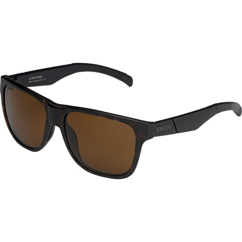 Smith Optics Lowdown Sunglasses with Polarized Brown Lenses (Matte Tortoise Frames)