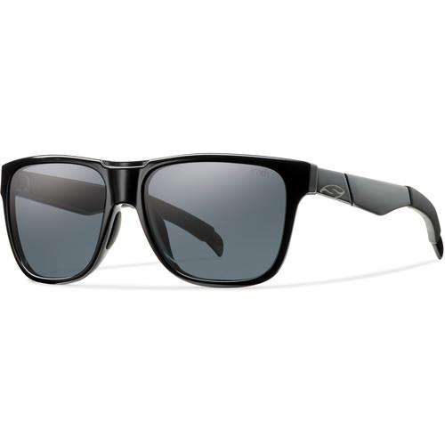 Smith Optics Lowdown Sunglasses (Black - Polarized Gray Carbonic TLT)
