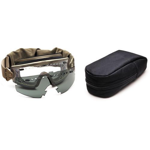Smith Optics LoPro Regulator Tactical Goggle - Field Kit - (Tan 499)