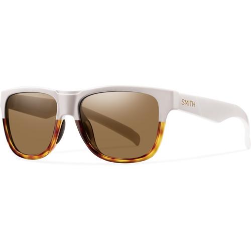 Smith Optics Lowdown Slim Sunglasses (White Fade Tortoise - Brown Carbonic TLT)