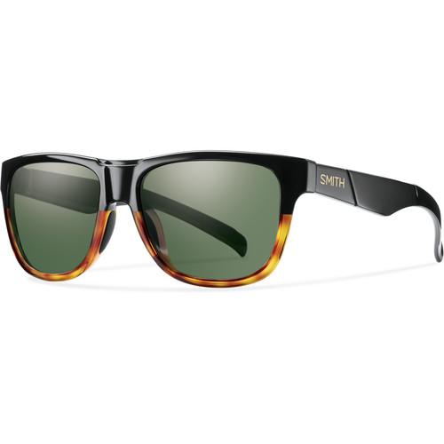 Smith Optics Lowdown Slim Sunglasses (Black Fade Tortoise - Gray-Green Carbonic TLT)