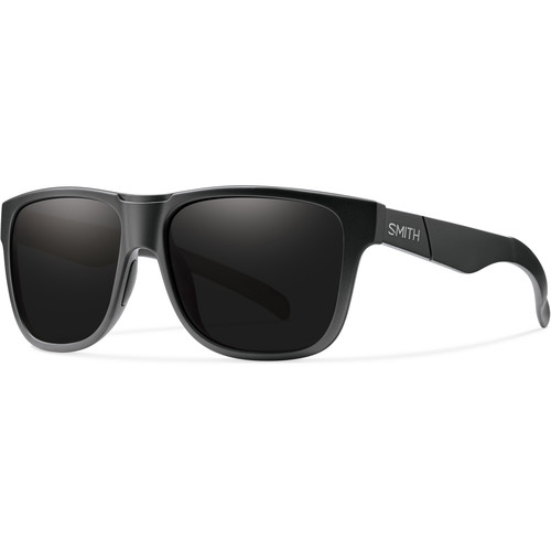 Smith Optics Lowdown XL Men's Sunglasses with Blackout Dark Gray Lenses (Impossibly Black Frame)
