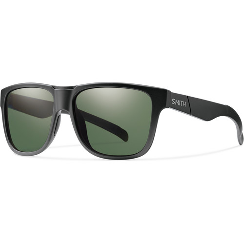 Smith Optics Lowdown XL Men's Sunglasses with Polarized Gray-Green Lenses (Matte Black Frame)