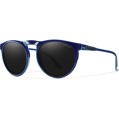 Smith Optics Men's Marvine Sunglasses (Blackout Dark Gray Lenses / Blue Frames)