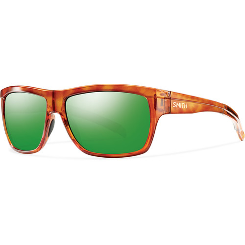 Smith Optics Men's Mastermind Sunglasses (Polarized Green Sol-X Mirror Lenses / Honey Tortoise Frames)