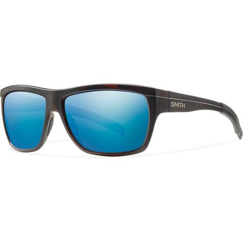 Smith Optics Men's Mastermind Sunglasses (Polarized Blue Sol-X Mirror Lenses / Matte Tortoise Frames)