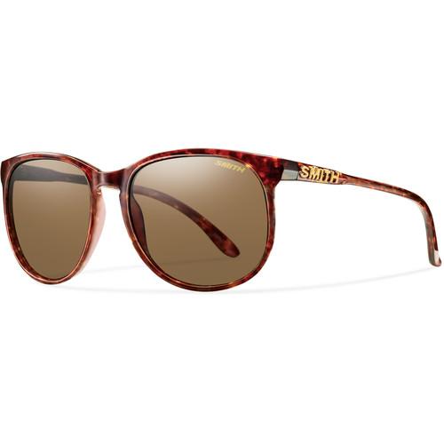 Smith Optics Mt Shasta Unisex Sunglasses (Vintage Havana Frames & Brown Carbonic TLT Lenses)