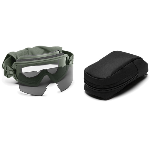Smith Optics Outside the Wire (OTW) Tactical Goggle - Field Kit - (Foliage Green - Asian Fit)