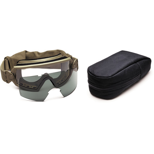 Smith Optics Outside the Wire (OTW) Tactical Goggle - Field Kit - (Tan 499 - Asian Fit)