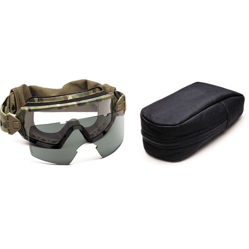 Smith Optics Outside the Wire (OTW) Tactical Goggle - Field Kit - (MultiCam Camouflage - Asian Fit)