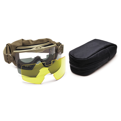 Smith Optics Outside the Wire (OTW) Turbo Fan Tactical Goggle - Field Kit (Tan 499)