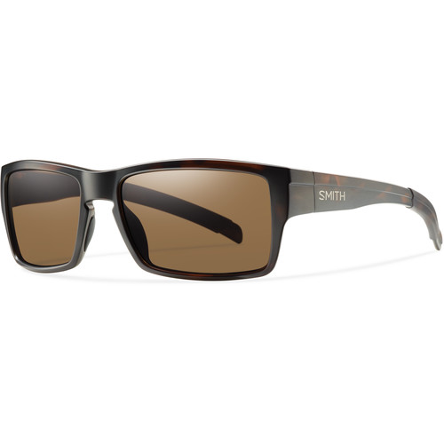Smith Optics Outlier Sunglasses (Matte Tortoise Frame - Polarized Brown Carbonic TLT Lenses)