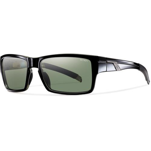 Smith Optics Outlier Sunglasses (Black Frame - Polarized Gray Green Carbonic TLT Lenses)
