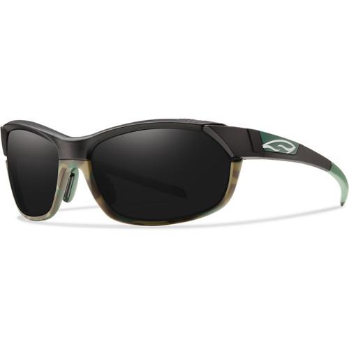Smith Optics PivLock Overdrive Sunglasses (Matte Trail Camo - Blackout Lens)