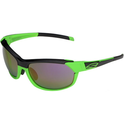 Smith Optics PivLock Overdrive Sunglasses (Reactor Green - Purple Sol X Mirror Lens)