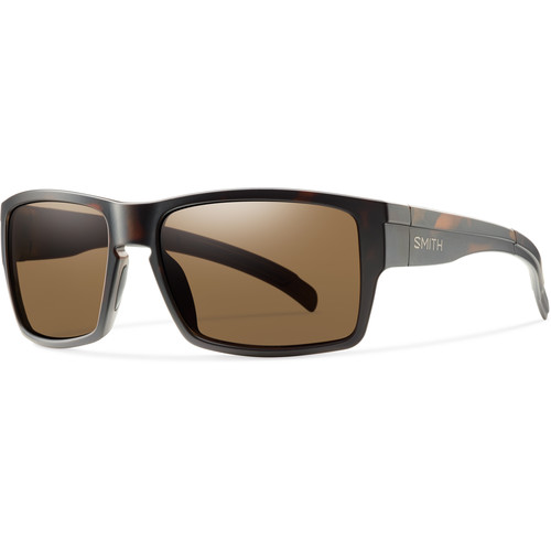 Smith Optics Outlier Men's XL Sunglasses (Matte Tortoise Frames & Polarized Brown Carbonic TLT Lenses)