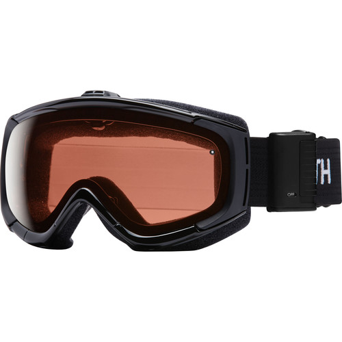 Smith Optics Phenom Turbo Fan Snow Goggle (Black Frame, RC36 Lenses)