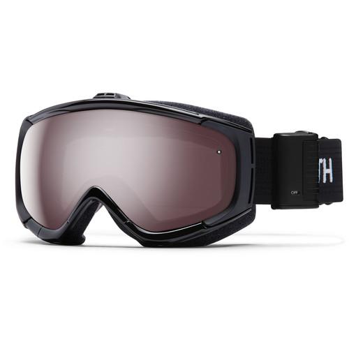 Smith Optics Phenom Turbo Fan Snow Goggle (Black Frame, Ignitor Mirror Lenses)