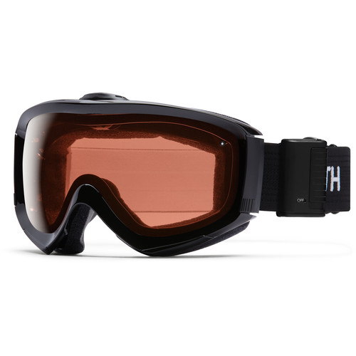 Smith Optics Medium/Large-Fit Prophecy Turbo Fan Snow Goggle (Black Frame, RC36 Lens)