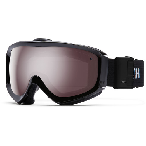 Smith Optics Medium/Large-Fit Prophecy Turbo Fan Snow Goggle (Black Frame, Ignitor Mirror Lens)