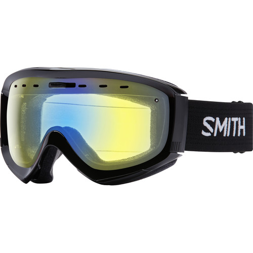 Smith Optics Prophecy OTG Snow Goggle (Black Frame, Yellow Sensor Mirror Lens)
