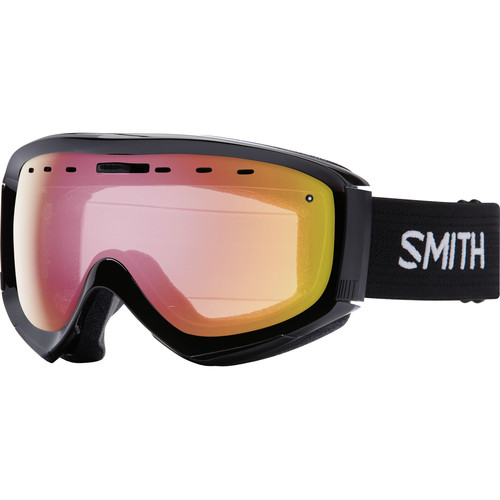 Smith Optics Prophecy OTG Snow Goggle (Black Frame, Red Sensor Mirror Lens)