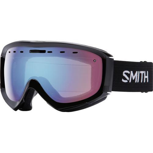 Smith Optics Prophecy OTG Snow Goggle (Black Frame, Blue Sensor Mirror Lens)