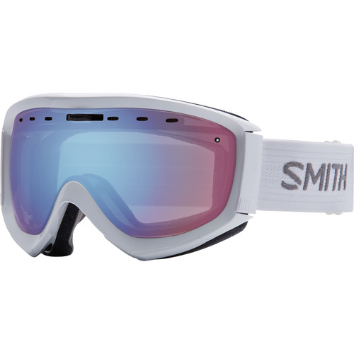 Smith Optics Prophecy OTG Snow Goggle (White Frame, Blue Sensor Mirror Lens)