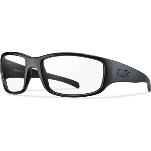 Smith Optics Prospect Tactical Sunglasses (Black - Clear Lens)