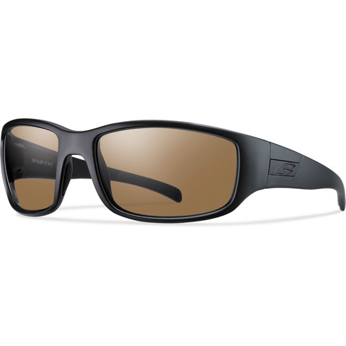 Smith Optics Prospect Tactical Sunglasses (Black - Polarized Brown Lens)