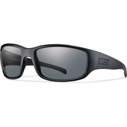 Smith Optics Prospect Tactical Sunglasses (Black - Polarized Gray Lens)