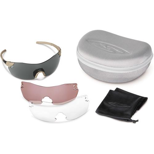 Smith Optics PivLock V2 Elite Protective Eyewear - Deluxe Kit (Tan 499)