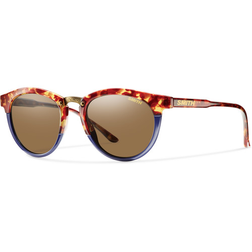 Smith Optics Questa Women's Sunglasses (Tortoise Blue Frames & Brown Carbonic TLT Lenses)